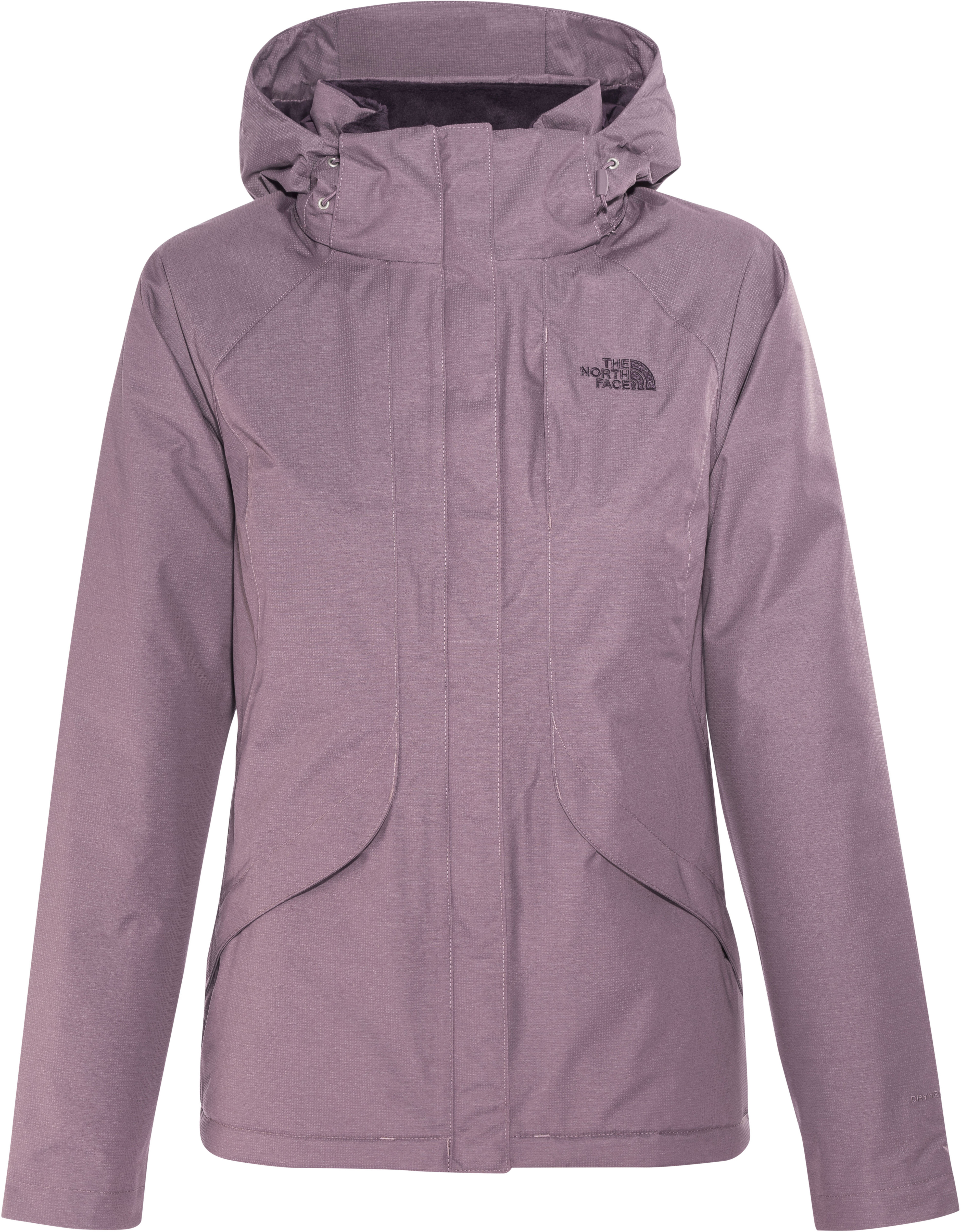 191548150db The North Face Inlux Insulated Jas Dames, black plum heather l ...